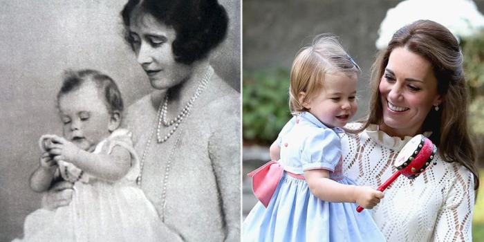 Маленькая Елизавета. \ Маленькая Шарлотта.