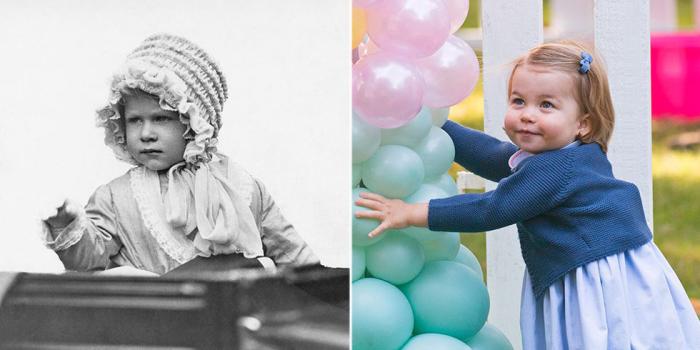 Будущая королева и её приветственный жест. \ Беззаботная принцесса Шарлотта.
