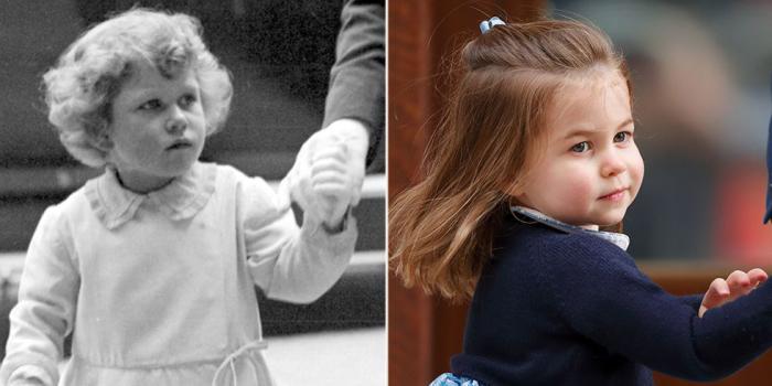 Елизавета на королевском турнире. \ Шарлотта навещает новорожденного брата.