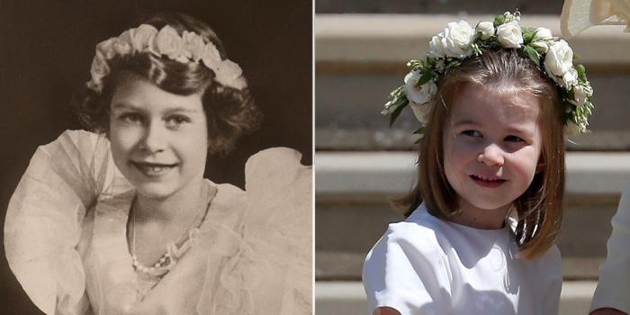 Елизавета в 30-е годы. \ Шарлотта в мае 2018 года.