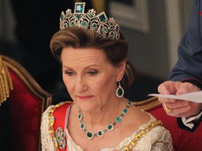 Норвежская королева Соня. \ Фото: Chris Jackson.