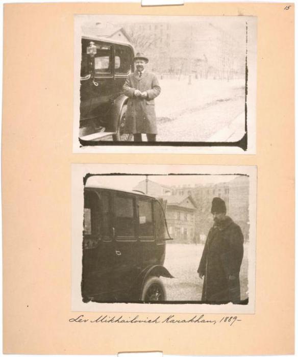 Лев Михайлович Карахан, 1889-1937 гг.