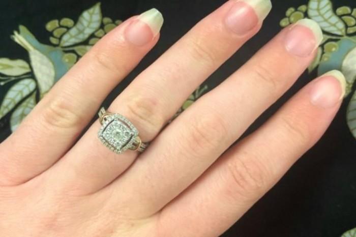 Кольцо, выбранное с любовью.