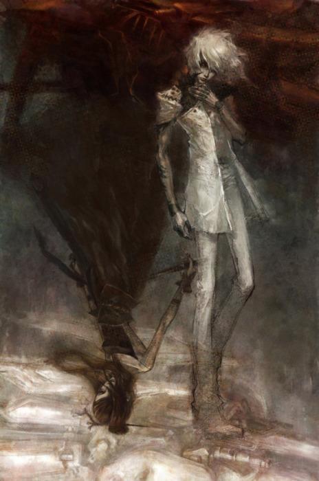 Таинственные образы в работах Ронгера Пятого (rogner5th).