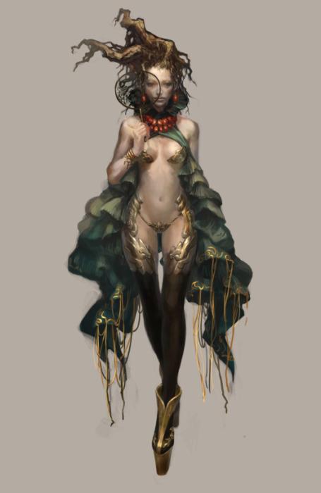 Фэнтезийные персонажи Ронгера Пятого (rogner5th).