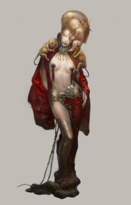 Творчество китайского художника  Ронгера Пятого (rogner5th).