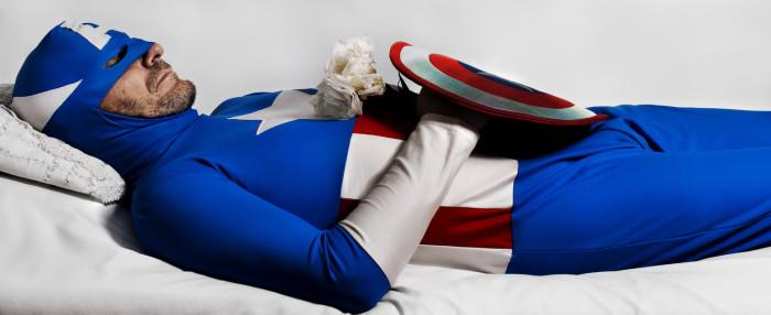 Ты навечно, мой Капитан Америка. Автор фото Romina Ressia.