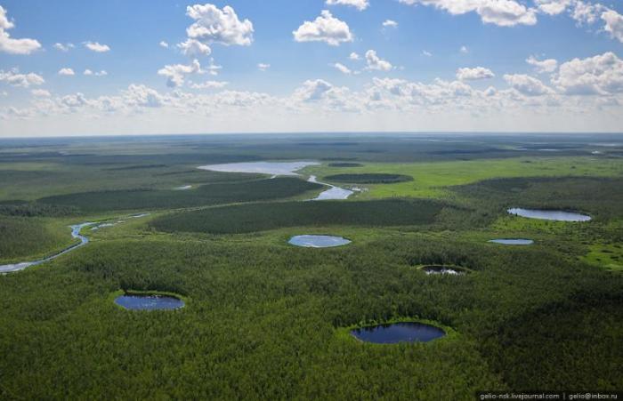 Целиком протекает по территории Каргасокского района Томской области.