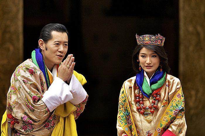 Свадьба короля Бутана Джигме Кхесар Намгьял Вангчука и Джецун Пема, 2011 год.