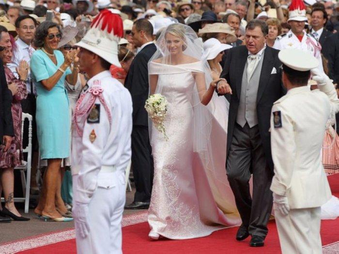 Княгиня Шарлин вместе с супругом князем Альбером II, 2011 год.