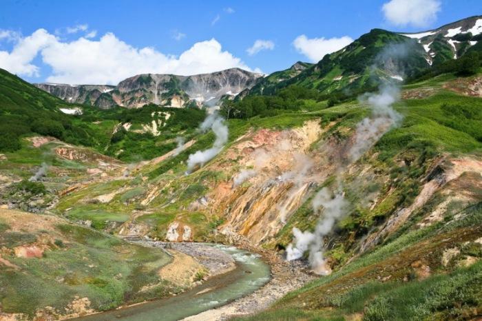 Долина Гейзеров, Камчатка.