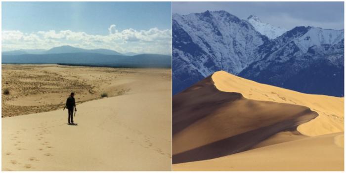 Чарские пески — это пустыня, которая находится в четырех десятках километров от ледников Кодара среди заснеженных гор, дремучей тайги и обширных болот.