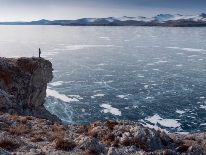 Озеро Байкал, Восточная Сибирь.