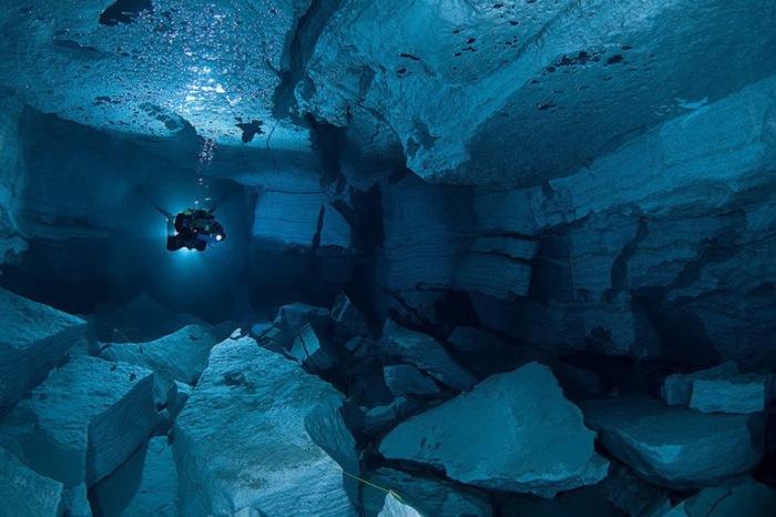Ординская пещера, Пермский край.