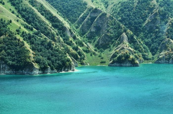 Озеро Кезеной-ам, Чеченская республика.
