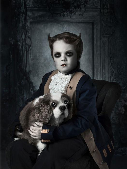 Маленький аристократ. Автор: Asa Deleau Wiklund.
