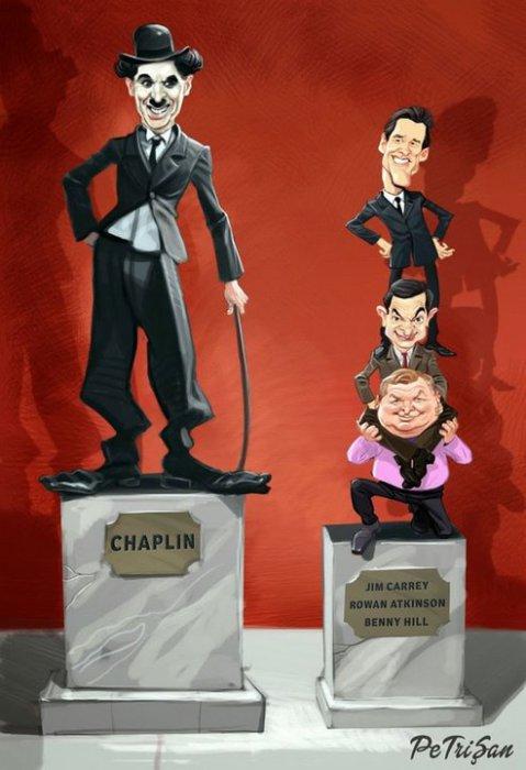 Сатирические иллюстрации о проблемах современного общества. Авторы: Бoгдaн Пeтри (Bogdan Petry) и Хopия Кpишaн (Horia Crisan).