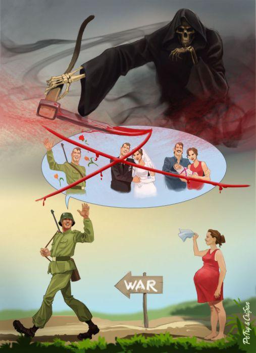 Будущее солдата. Авторы: Бoгдaн Пeтри (Bogdan Petry) и Хopия Кpишaн (Horia Crisan).