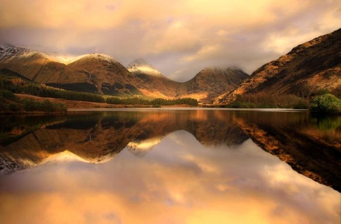 Осень в Шотландии.