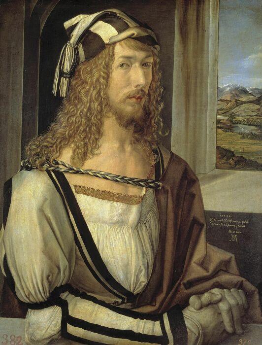 Автопортрет Альбрехта Дюрера, 1498 год. \ Фото: thoughtco.com.