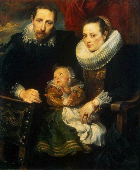 Family Portrait, 1621 год. Автор: Sir Anthony Van Dyck.