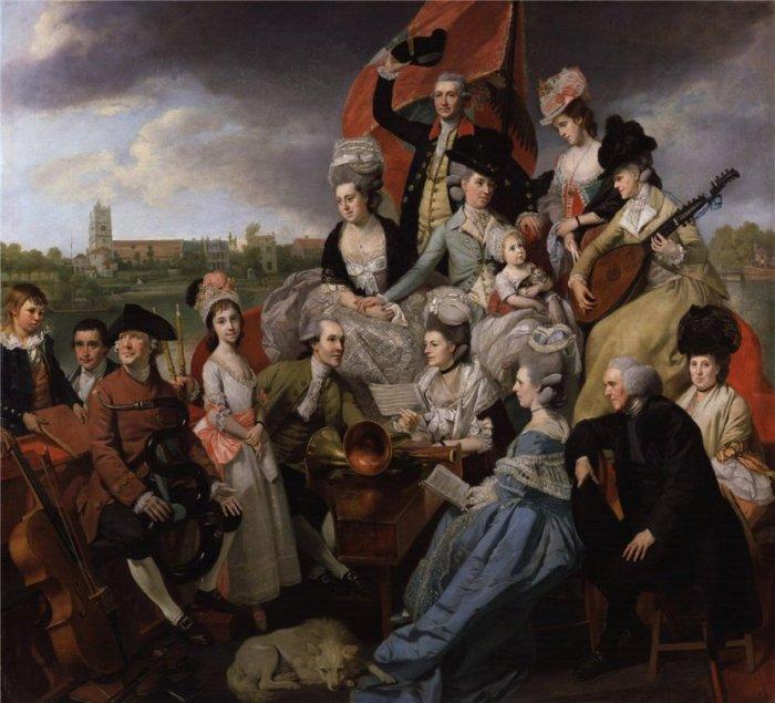 The Sharp Family. Автор: Johann Zoffany.