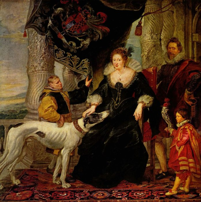 Family Portrait. Автор: Peter Paul Rubens.