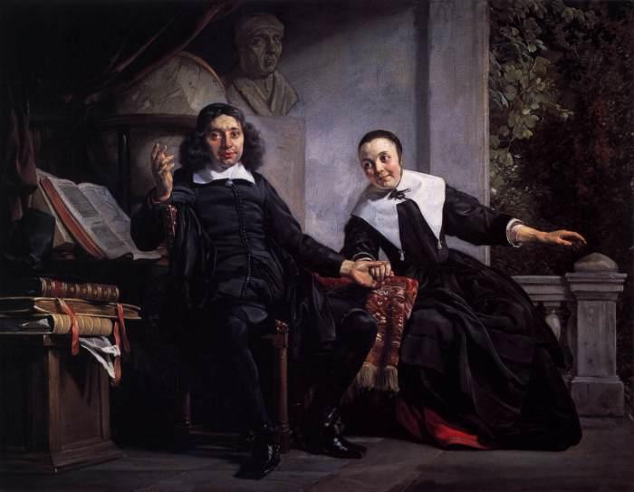 Abraham Casteleyn and His Wife Margarieta van Bancken. Автор: Jan de Bray.