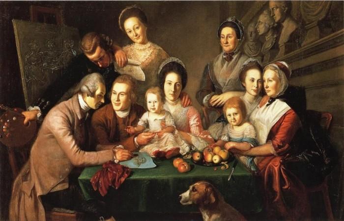 The Children of Elizabeth DePeyster and Charles Willson Peale. Автор: Charles Willson Peale.