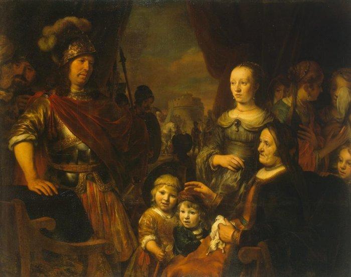 Sacrifice at Bethel. Автор: Gerbrandt Jansz van den Eeckhout.