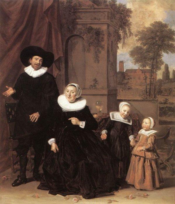 Family Portrait. Автор: Frans Hals.