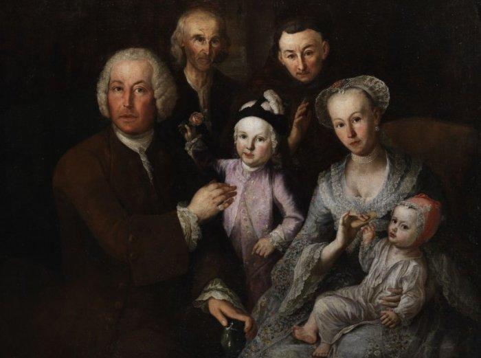 Familienbildnis. Автор: Joachim Luhn.