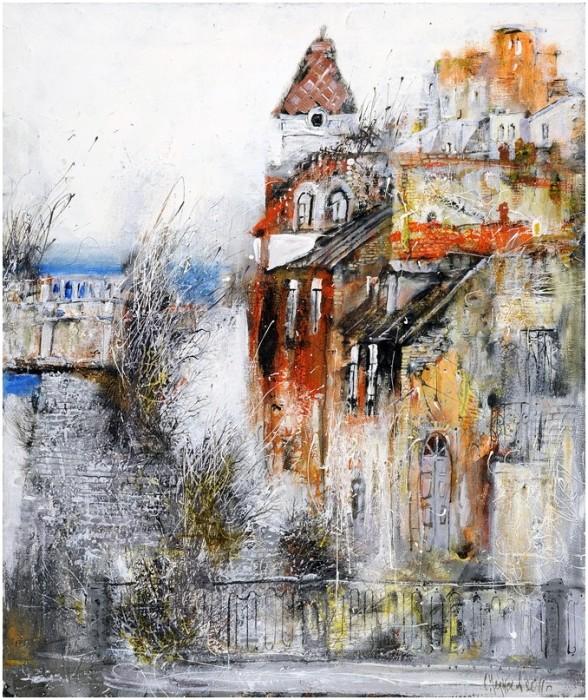 Городской пейзаж. Автор: Сергей Черкасов.