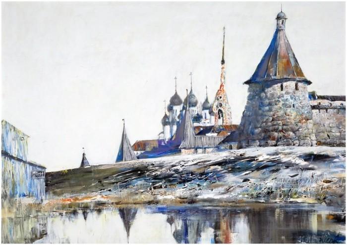 Старая церковь. Автор: Сергей Черкасов.