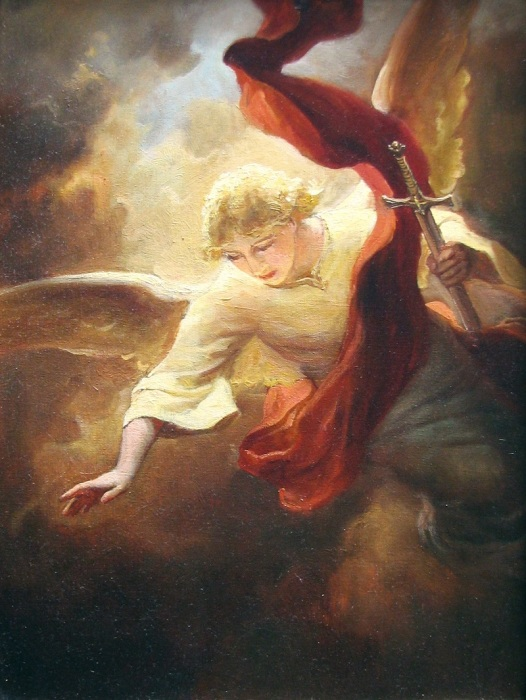 Ангел Хранитель. Автор: Андрей Шишкин.