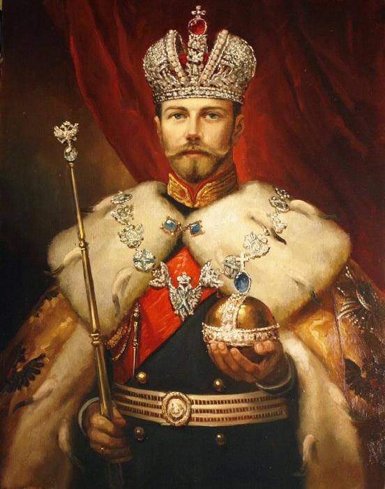 Император Николай II. Автор: Андрей Шишкин.