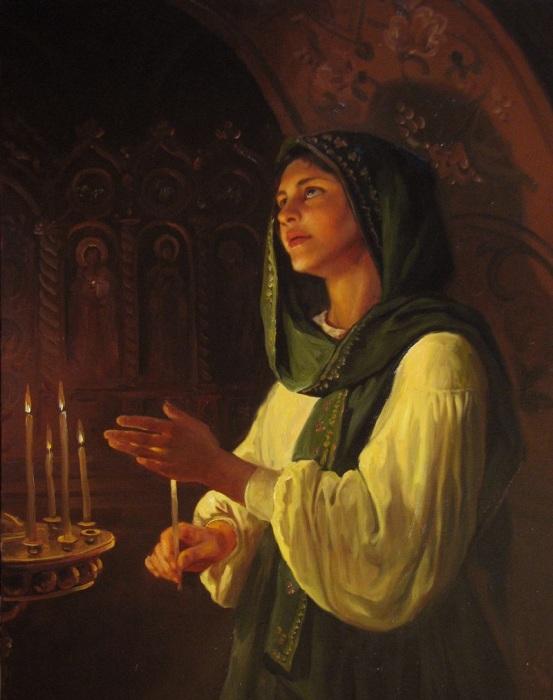 Молитва. Автор: Андрей Шишкин.