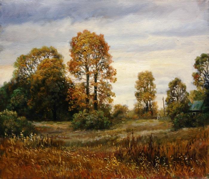 Октябрь в Горящино. Автор: Андрей Шишкин.