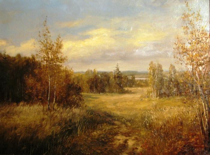Осень. Автор: Андрей Шишкин.