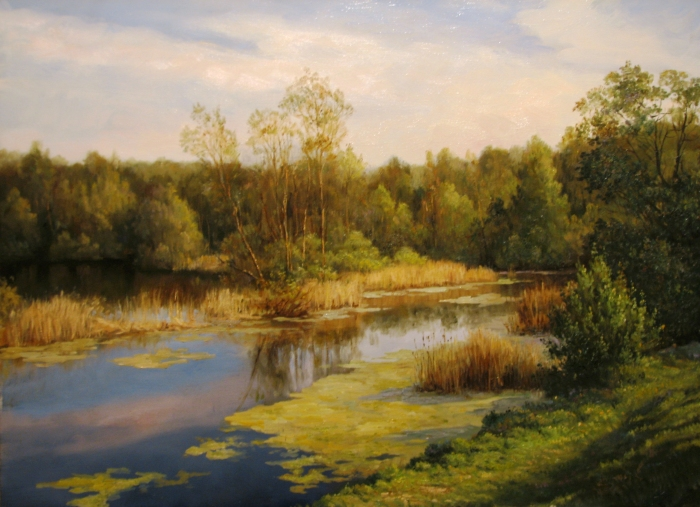 Озеро. Автор: Андрей Шишкин.