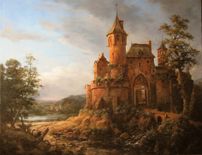 Замок. Автор: Андрей Шишкин.