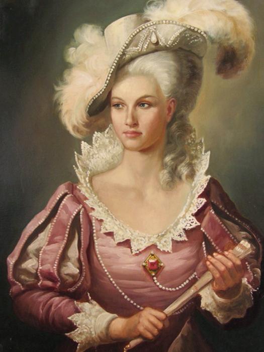 Дама в розовом. Автор: Андрей Шишкин.