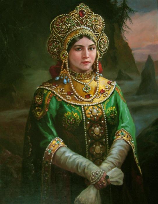 Хозяйка Медной горы. Автор: Андрей Шишкин.