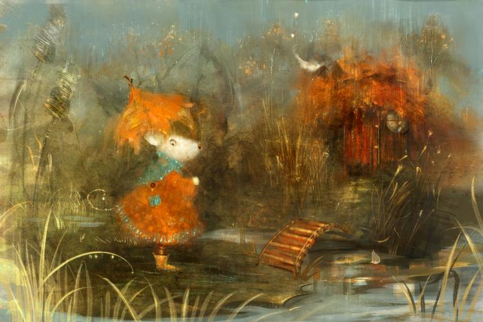 Дождливый вечер. Автор: Полина Яковлева.