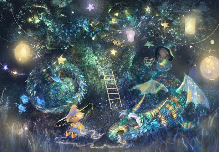 Волшебство. Автор: Полина Яковлева.
