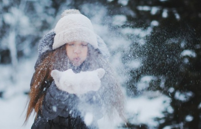 Лети, лети снег.