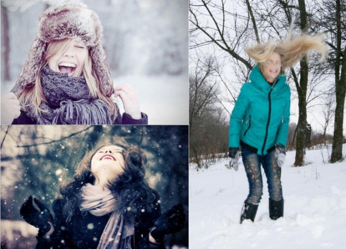 Снег - источник позитива.
