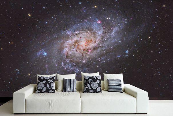 Галактическая стена (Galaxy Wall Decal).