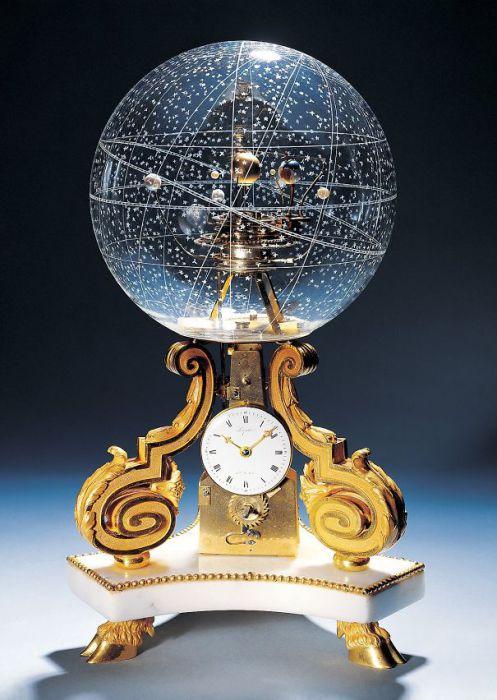 Часы планетарий ( Planetarium Clock).