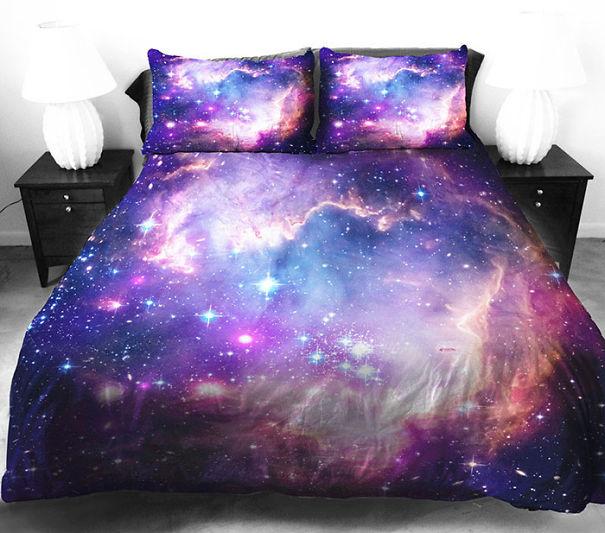 Галактический комплект постельного белья (Galaxy Bedding).